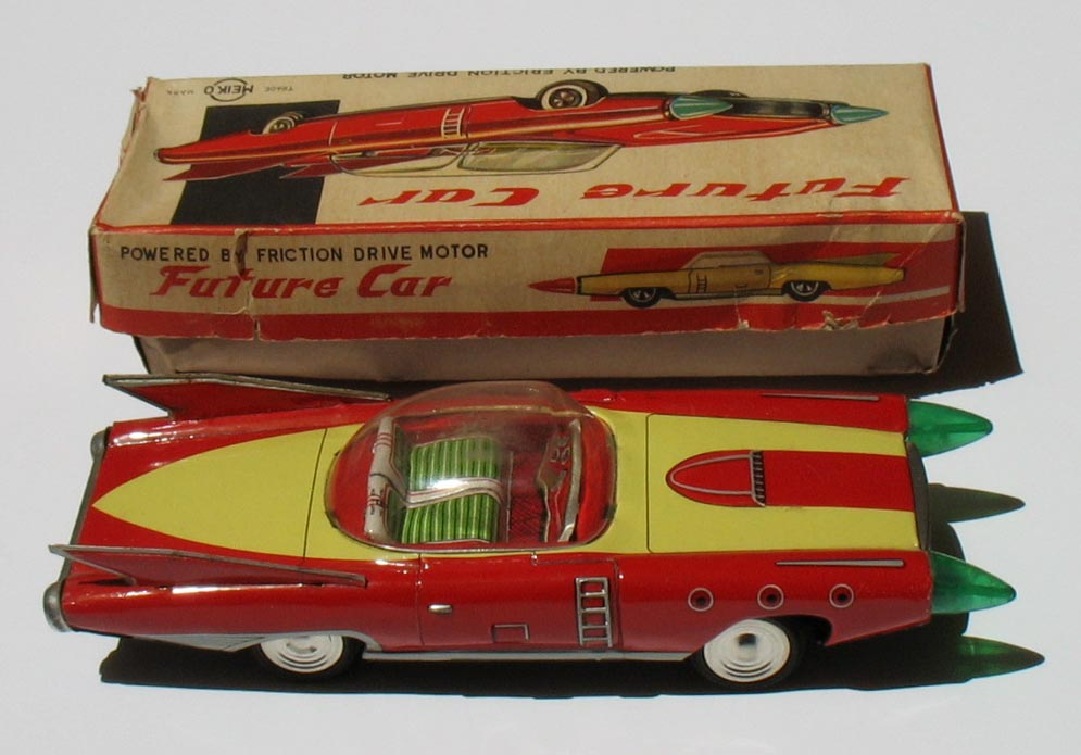 Japanese Tin Toys : Free vintage space toys price guide information