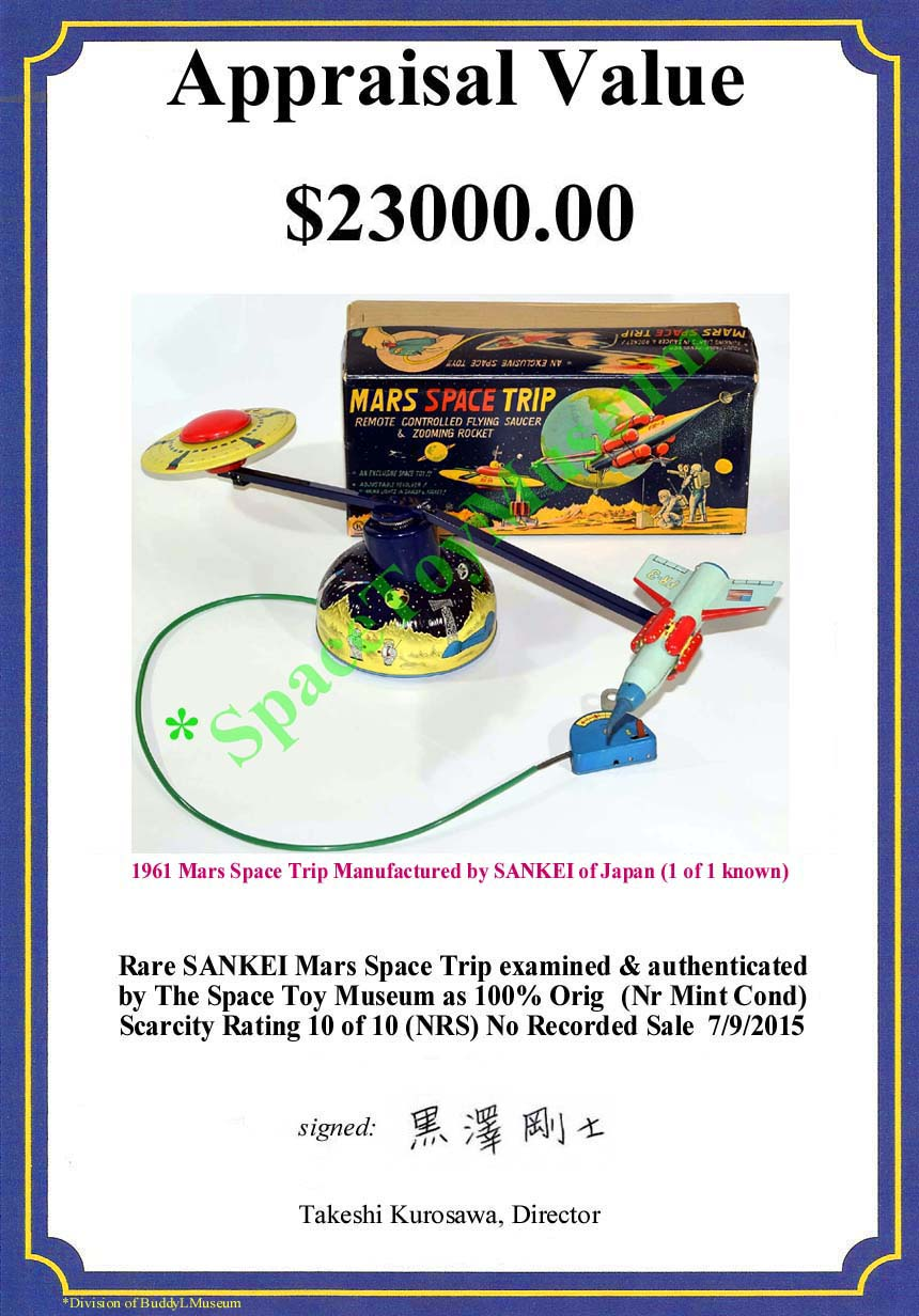Free Online Toy Appraisals Tin Toys Robots Cars Space Ships Trucks