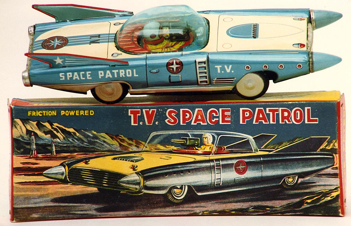 Free Vintage Space Toys Price Guide & Information