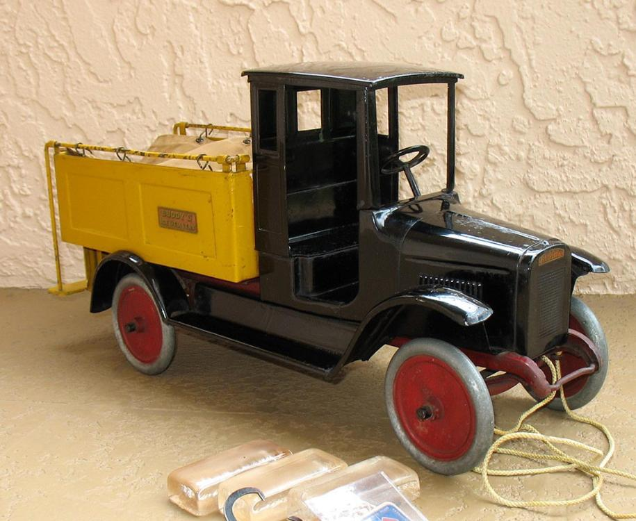 Antique Buddy L Ice Truck For Sale ~ Buddy L Museum