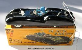 Buying vintage space toys, 1950's vintage space toys, Vintage Japan tin toy cars Alps batman friction batmobile battery operated Japanese tin space toy price guide free japanese toy appraisals battery operated robots prices, alps batmobile for sale,  vintage space toys for sale, space travel toy cars, space rocket tin cars, vintage space toys museum, space toys for sale, ebay space toys appraisals, Japan rocket ship space car travel