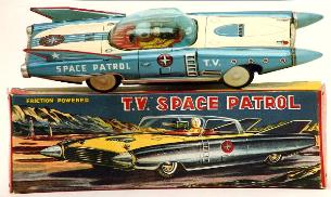 online toy values online toy prices appraisals vintage japanese space toys robots japan tin toy trucks nomura space toys for sale, linemar space toys for sale,online space toys photographs,  buddy l space ship rocket truck